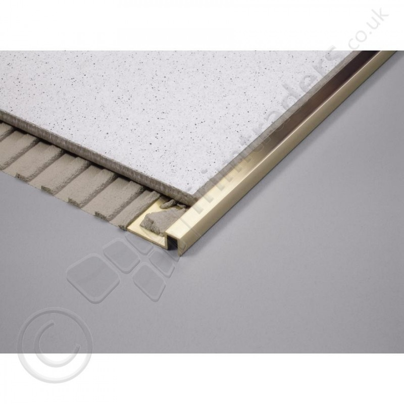 Premium Formable Brass Square Edge Tile Trim Dpm Zf 2 5m