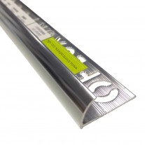 Trimtraders Aluminium Round Edge Tile Trim (BRE) 2.5m