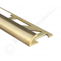 Dural Brass Round Edge Trim (DRM) 2.5m