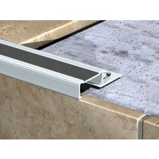 Genesis Aluminium Step Nosing With Carbide Insert (NLC) 2.6m