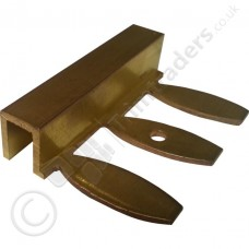 Premium Formable Brass Square Edge Tile Trim (DPM-ZF) 2.5m