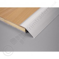 12-16mm Dural Aluminium Self Adhesive Sloping Edge Floor Profile