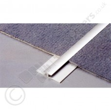 3.5mm Dural Twin Extra Narrow Double-Sided Clamping Profile