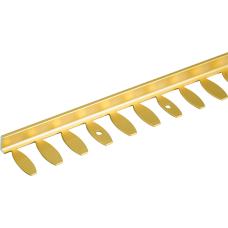 Formable Natural & Highly Polished Brass Tile Trim (DSM-ZF) 2.5m