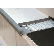 Genesis Aluminium Tile-In Step Nosing (NAT) 2.6m