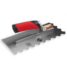 Rubi Round Edge Notch Trowel