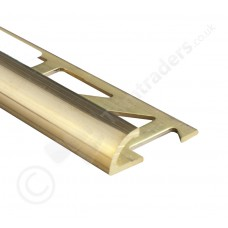 High Polish Brass Quadrant Tile Trim