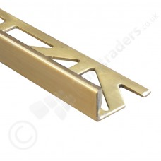 Premium Natural & Highly Polished Brass Straight Edge (DSM) 2.5m