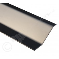 8-12mm Dural Stainless Steel Sloping Edge Floor Profile