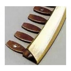 Dural Brass Formable Round Edge Trim (DRM ZF) 2.5m