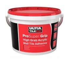Ultra Pro SuperGrip High Grab Acrylic Wall Tile Adhesive 15kg